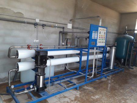 صيانة محطة تحلية المياه